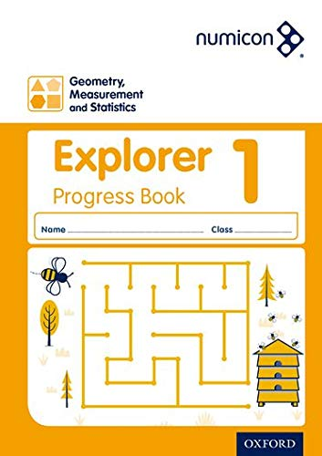 9780198389354: Numicon: Geometry, Measurement and Statistics 1 Explorer Progress Book (Pack of 30)