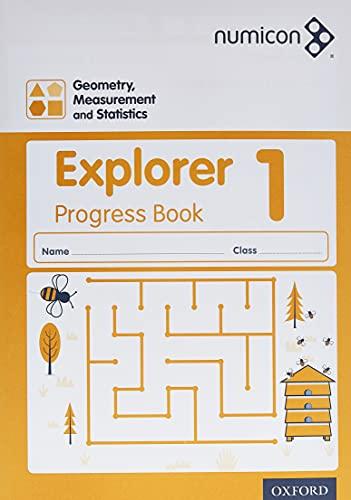 9780198389392: Numicon: Geometry, Measurement and Statistics 1 Explorer Progress Book
