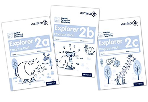 9780198389453: Numicon: Number, Pattern and Calculating 2 Explorer Progress Books ABC (Mixed pack)