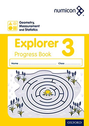 9780198389637: Numicon: Geometry, Measurement and Statistics 3 Explorer Progress Book (Pack of 30)