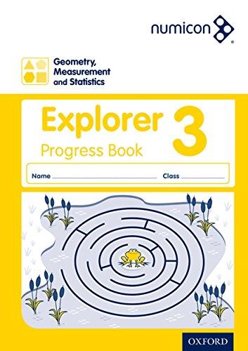 9780198389675: Numicon: Geometry, Measurement and Statistics 3 Explorer Progress Book