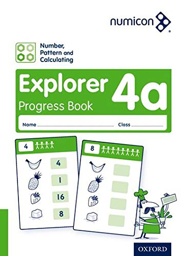 9780198389767: Numicon: Number, Pattern and Calculating 4 Explorer Progress Book A (Pack of 30)