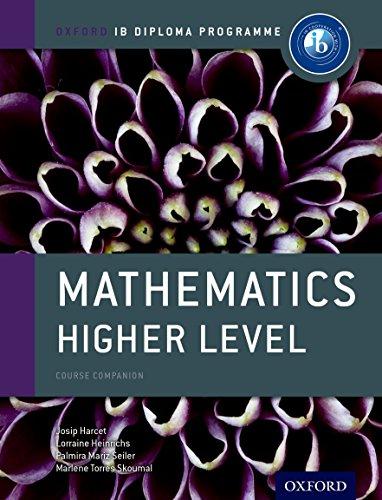IB Mathematics Higher Level Course Book: Oxford IB Diploma Programme (International Baccalaureate):...