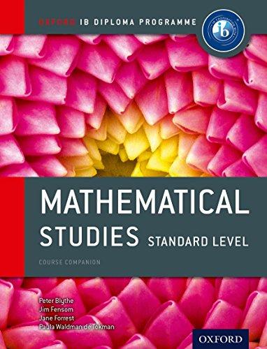 Oxford IB Diploma Programme: Mathematical Studies Standard: Waldman De Tokman,
