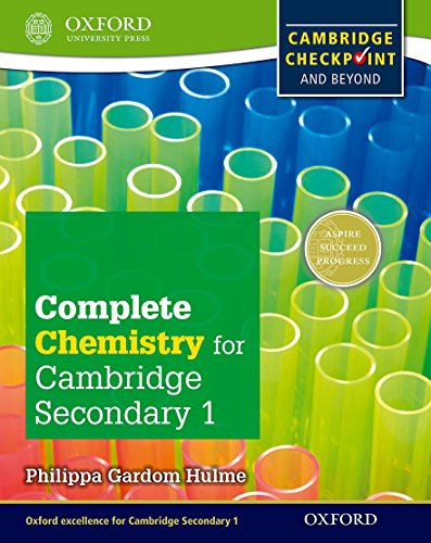 9780198390183: Complete Chemistry for Cambridge Secondary 1 Student Book: For Cambridge Checkpoint and beyond