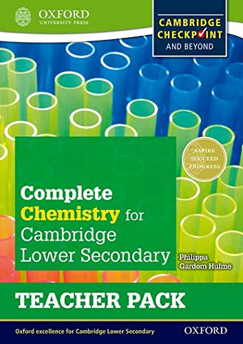 9780198390206: Complete Chemistry for Cambridge Secondary 1 Teacher Pack: For Cambridge Checkpoint and beyond