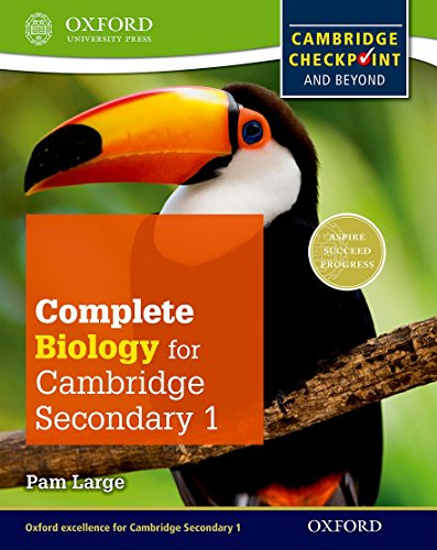 9780198390213: Complete biology for Cambridge IGCSE secondary 1. Checkpoint-Student's book. Per la Scuola media. Con espansione online (Checkpoint Science)