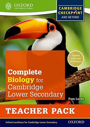 9780198390237: Complete Biology for Cambridge Lower Secondary Teacher Pack: For Cambridge Checkpoint and beyond (Checkpoint Science)
