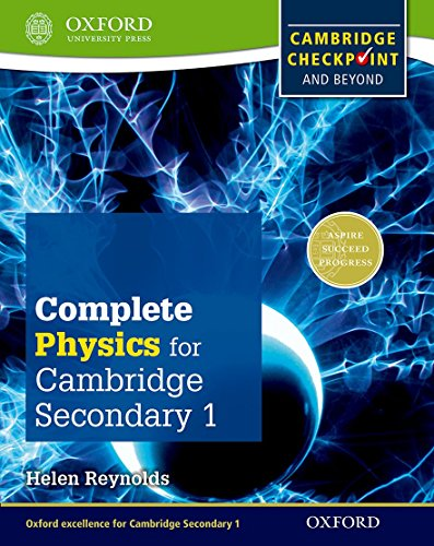 9780198390244: Complete Physics for Cambridge Secondary 1 Student Book: For Cambridge Checkpoint and beyond (Checkpoint Science)