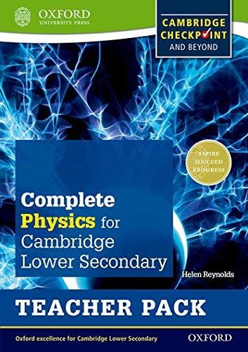 9780198390268: Complete Physics for Cambridge Secondary 1 Teacher Pack: For Cambridge Checkpoint and beyond