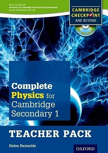 Complete Physics for Cambridge Lower Secondary Teacher: Helen Reynolds