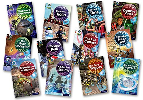 9780198391289: Project X Alien Adventures: Grey Book Band, Oxford Levels 12-14: Grey Book Band Mixed Pack of 12