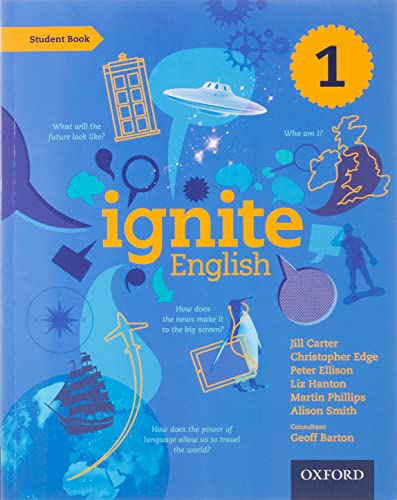 9780198392422: Ignite English: Student Book 1