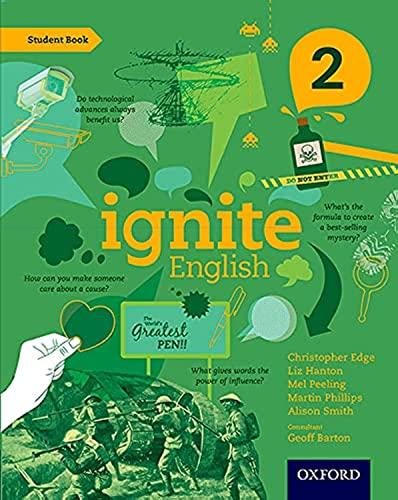 9780198392439: Ignite English: Student Book 2 [Paperback] [Feb 06, 2014] Christopher Edge, Liz Hanton, Mel Peeling