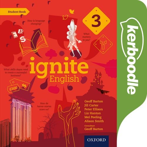 9780198392507: Ignite English: Ignite English Kerboodle Lessons, Resources and Assessments 3