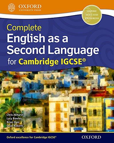 9780198392880: English as a second language for Cambridge IGCSE. Student's book. Con espansone online. Per le Scuole superiori (Complete Series)