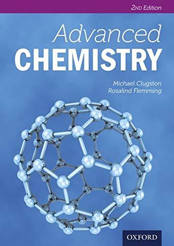 9780198392910: Advanced Chemistry (Advanced Sciences)
