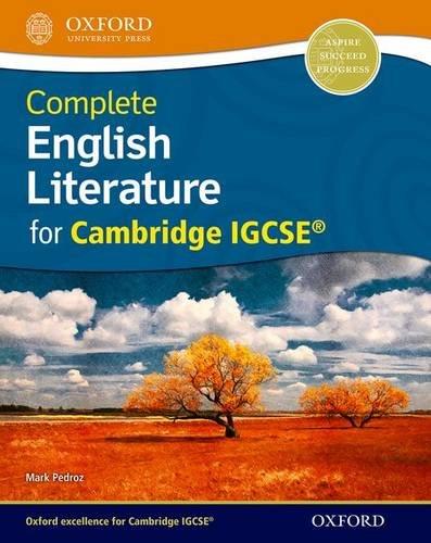 9780198393375: English Literature for Cambridge IGCSERG