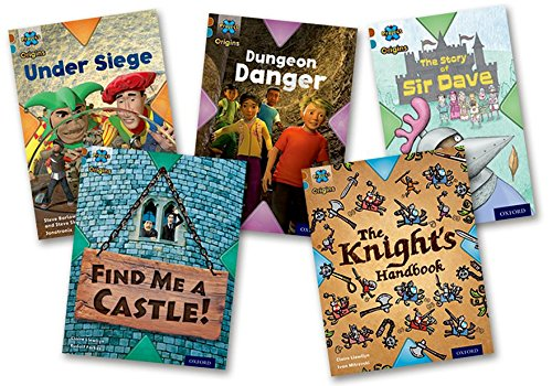 Project X Origins: Brown Book Band, Oxford Level 9: Knights and Castles: Mixed Pack of 5 (Paperback...