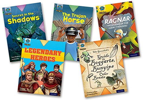 Project X Origins: Grey Book Band, Oxford Level 12: Myths and Legends: Mixed Pack of 5: Bradman, ...