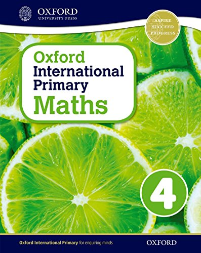 9780198394624: Oxford International Primary Maths: Stage 4: Age 8-9: Student Workbook 4