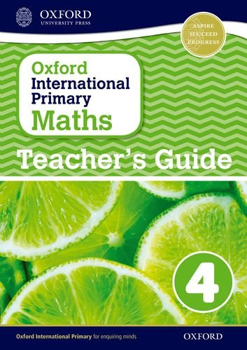 9780198394686: Oxford International Primary Maths Stage 4: Age 8-9 Teacher's Guide 4