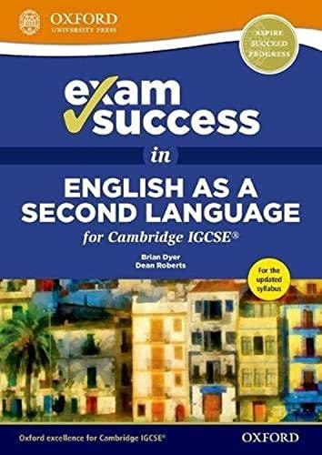 9780198396093: Exam Success in English as a Second Language for Cambridge IGCSE [Lingua inglese]