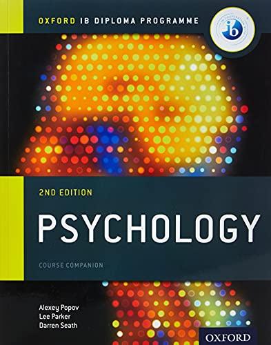 9780198398110: Oxford IB Diploma Programme: Psychology Course Companion