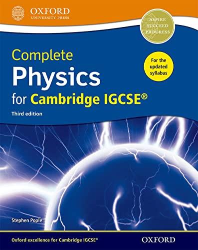9780198399179: Complete physics IGCSE 2017. Student's book. Per le Scuole superiori. Con espansione online. Con CD-ROM (Cie Igcse Complete)