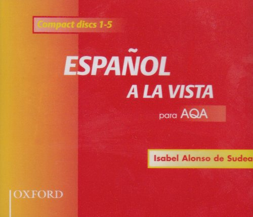9780198406259: Espanol a La Vista Para AQA: Set of 5 CDs (English and Spanish Edition)
