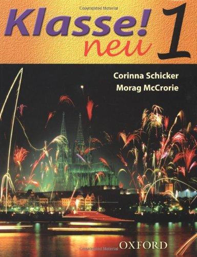 9780198406440: Klasse! Neu: Part 1: Student's Book: Neu Pt. 1