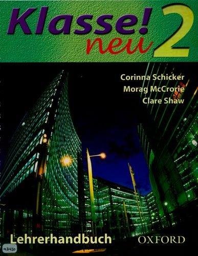9780198406570: Klasse! Neu: Part 2: Teacher's Book: Neu Pt. 2