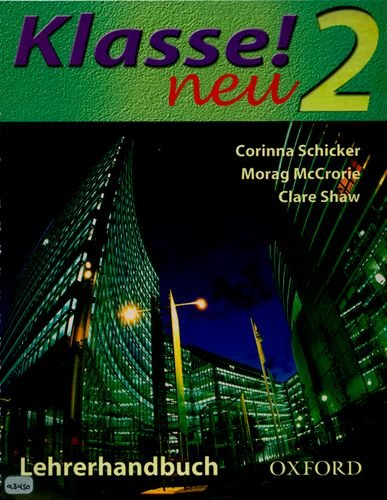 9780198406570: Klasse! Neu: Part 2: Teacher's Book: Neu Pt. 2