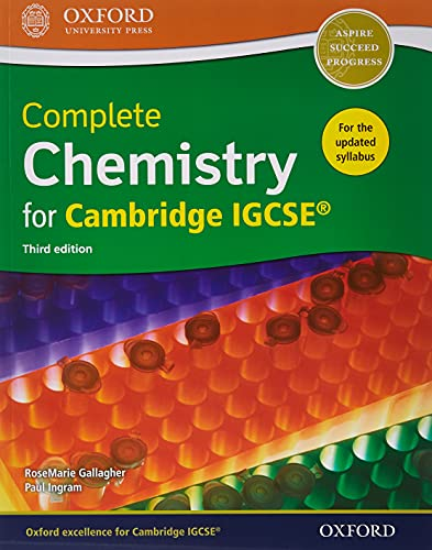 9780198409854: Complete Chemistry for Cambridge IGCSE (R) Student Book and Workbook Pack