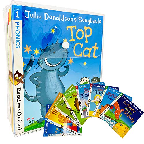 9780198411093: Oxford Reading Tree Read at home Songbirds Phonics Collection Julia Donaldson 36 Books Set Pack RRP: £128.82 (Stage 1,2,3,4,5,6) (Read at Home)