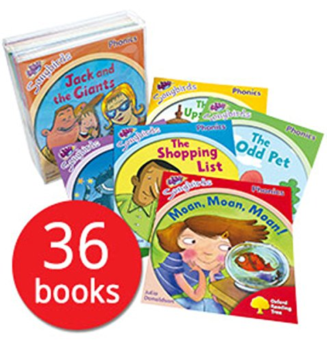 9780198411093: Oxford Reading Tree Read at home Songbirds Phonics Collection Julia Donaldson 36 Books Set Pack RRP: £128.82 (Stage 1,2,3,4,5,6) (Read at Home) [Paperback] [Jan 01, 2012] Julia Donaldson