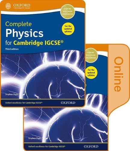 9780198417675: Complete Physics for Cambridge IGCSE® Print and Online Student Book Pack [Lingua inglese]: Third Edition