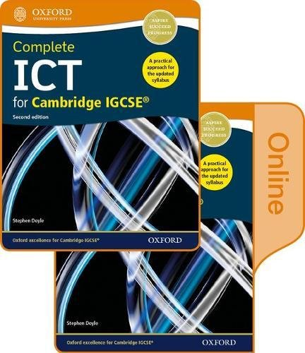 9780198417729: Complete ICT for Cambridge IGCSE Print and online student book pack (CIE IGCSE Complete Series)
