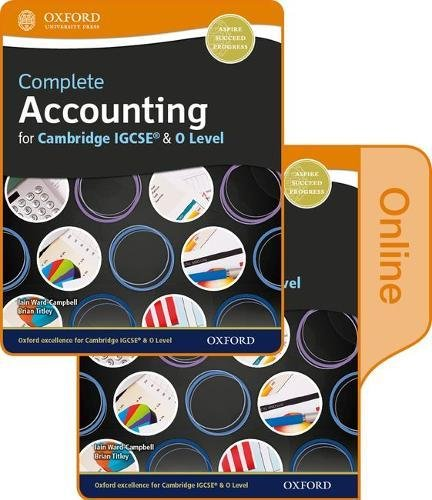9780198417804: Complete Accounting for Cambridge O Level & IGCSE Student Book & Online Book