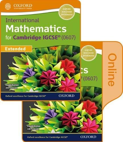 9780198417866: International Maths for Cambridge IGCSE Print & Online Student Book