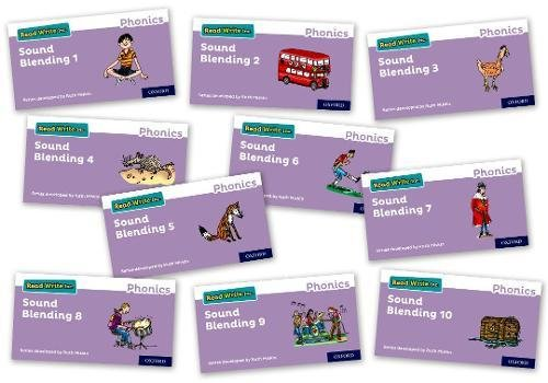 9780198424567: Read Write Inc. Phonics: Sound Blending Books - Mixed Pack of 10 (1 of each)