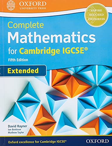 9780198425076: Complete Mathematics for Cambridge IGCSE® Student Book (Extended) [Lingua inglese]