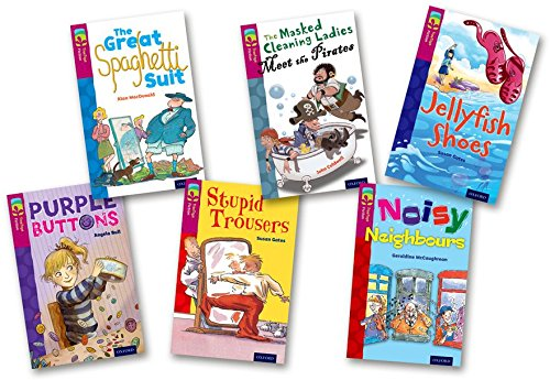 Oxford Reading Tree TreeTops Fiction: Level 10 More Pack A: Pack of 6: Angela Bull