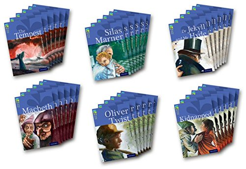 Oxford Reading Tree TreeTops Classics: Level 17 More Pack A: Pack of 36 (Paperback): Robert Louis ...