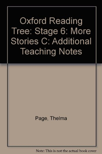9780198449997: Oxford Reading Tree: Stage 6: More Stories C: Additional Teaching Notes