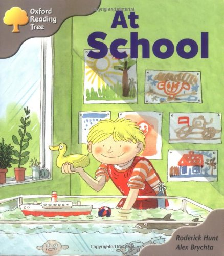 9780198450030: Oxford Reading Tree: Stage 1: Kipper Storybooks: At School