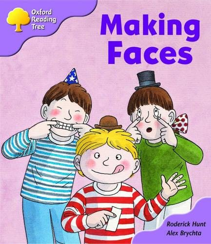9780198450931: Oxford Reading Tree: Stage 1+: More Patterned Stories: Making Faces: pack A