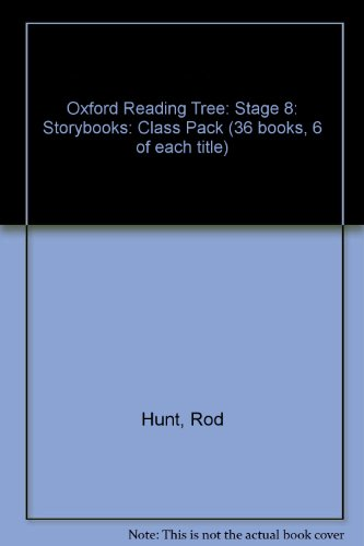 9780198452560: Oxford Reading Tree: Stage 8: Storybooks: Class Pack (36 Books, 6 of Each Title)