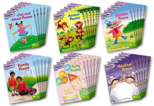 9780198453727: Oxford Reading Tree: Levels 1-2: Glow-worms: Class Pack (36 books, 6 of each title)
