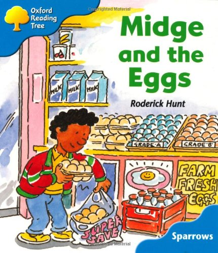9780198453888: Oxford Reading Tree: Level 3: Sparrows: Midge and the Eggs